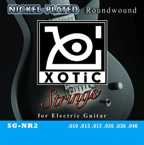 Xotic SG-NR2 Nickel-Plated Roundwound Electric Guitar Strings 10-46