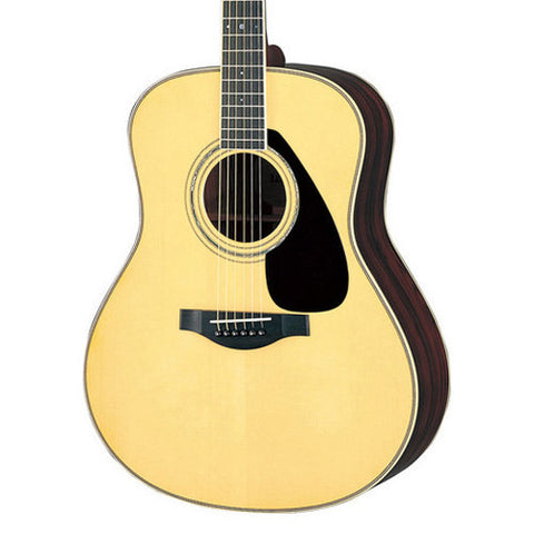 Yamaha LL6 Jumbo Acoustic-Electric Natural Floor Model