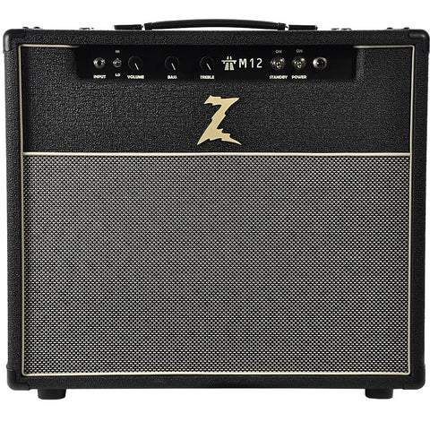 Dr. Z M12 1x12 Combo Black with Salt & Pepper Grill