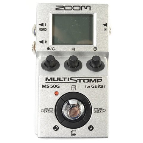 Zoom MS-50G Multistomp Guitar Effect Pedal
