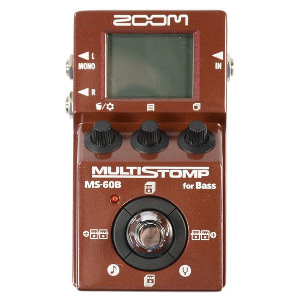zoom ms 60b multistomp bass effect pedal chicago music exchange. Black Bedroom Furniture Sets. Home Design Ideas