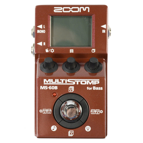 Zoom MS-60B Multistomp Bass Effect Pedal