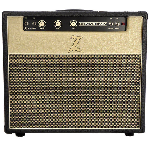 Dr. Z Stang Ray 1x12 Combo - Black & Blonde with Tan Grille