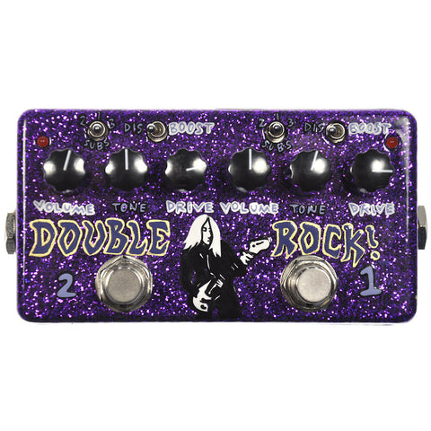 Zvex J Mascis Double Rock Hand Painted