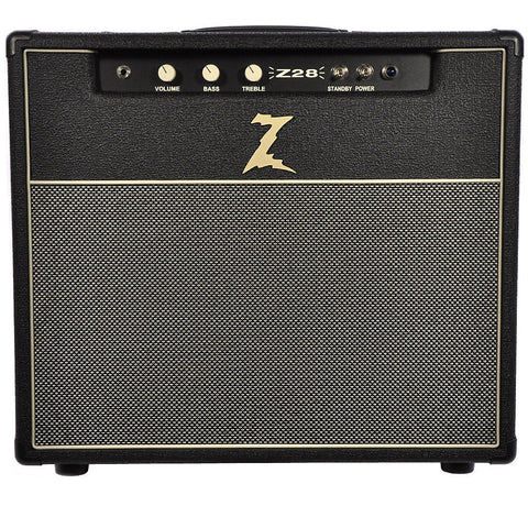 Dr. Z Z28 1x12 Combo Black with Salt & Pepper Grill USED