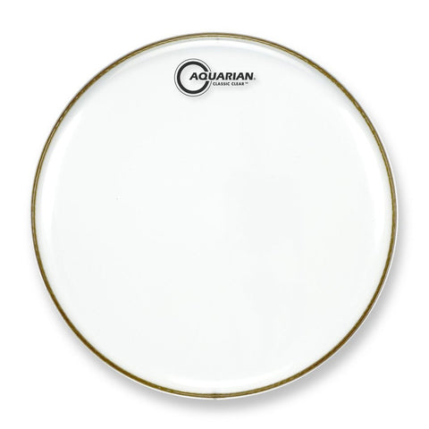 Aquarian 12 Inch Classic Clear Drum Head