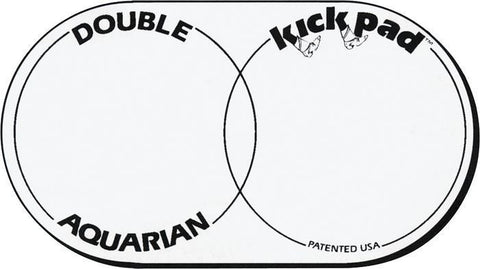 Aquarian Double Kick Bass Drum Pad