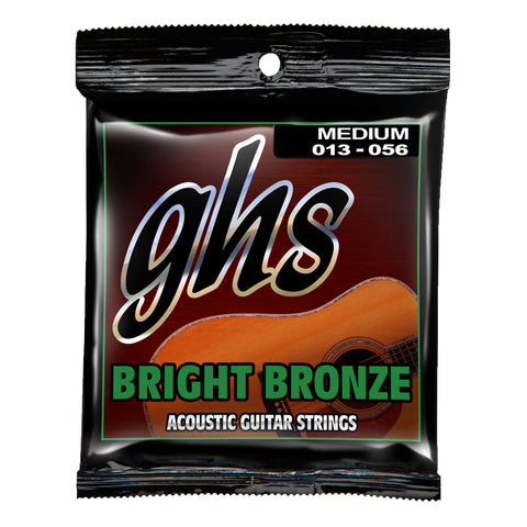 GHS BB40M Acoustic Bright Bronze 80/20 Medium 13-56