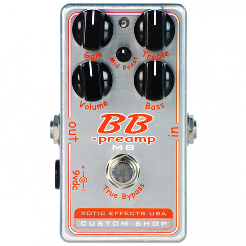 Xotic Effects BB Preamp MB Overdrive