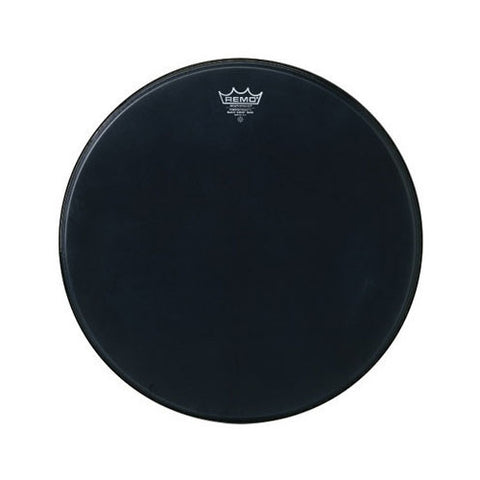 Remo 24 Inch Bass Powerstroke 3 Black Suede Drum Head
