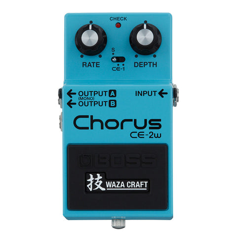 Boss CE-2W Chorus Waza Craft Special Edition