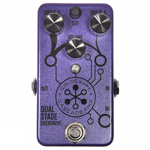 Coldcraft Effects Cascade MKII Dual Stage Overdrive