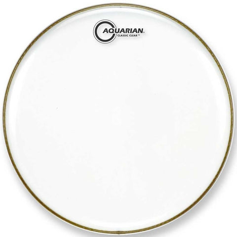 Aquarian 13 Inch Classic Clear Snare Side Drum Head
