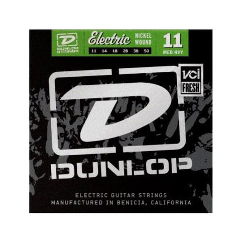 Dunlop Strings Electric Nickel Plated Steel Medium-Heavy 11-50