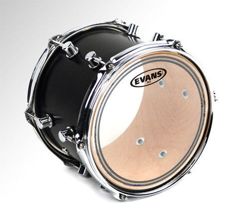 Evans 13 Inch EC2 Clear SST Drum Head