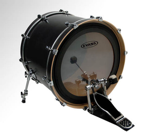 Evans 24 Inch EMAD Batter Clear Drum Head