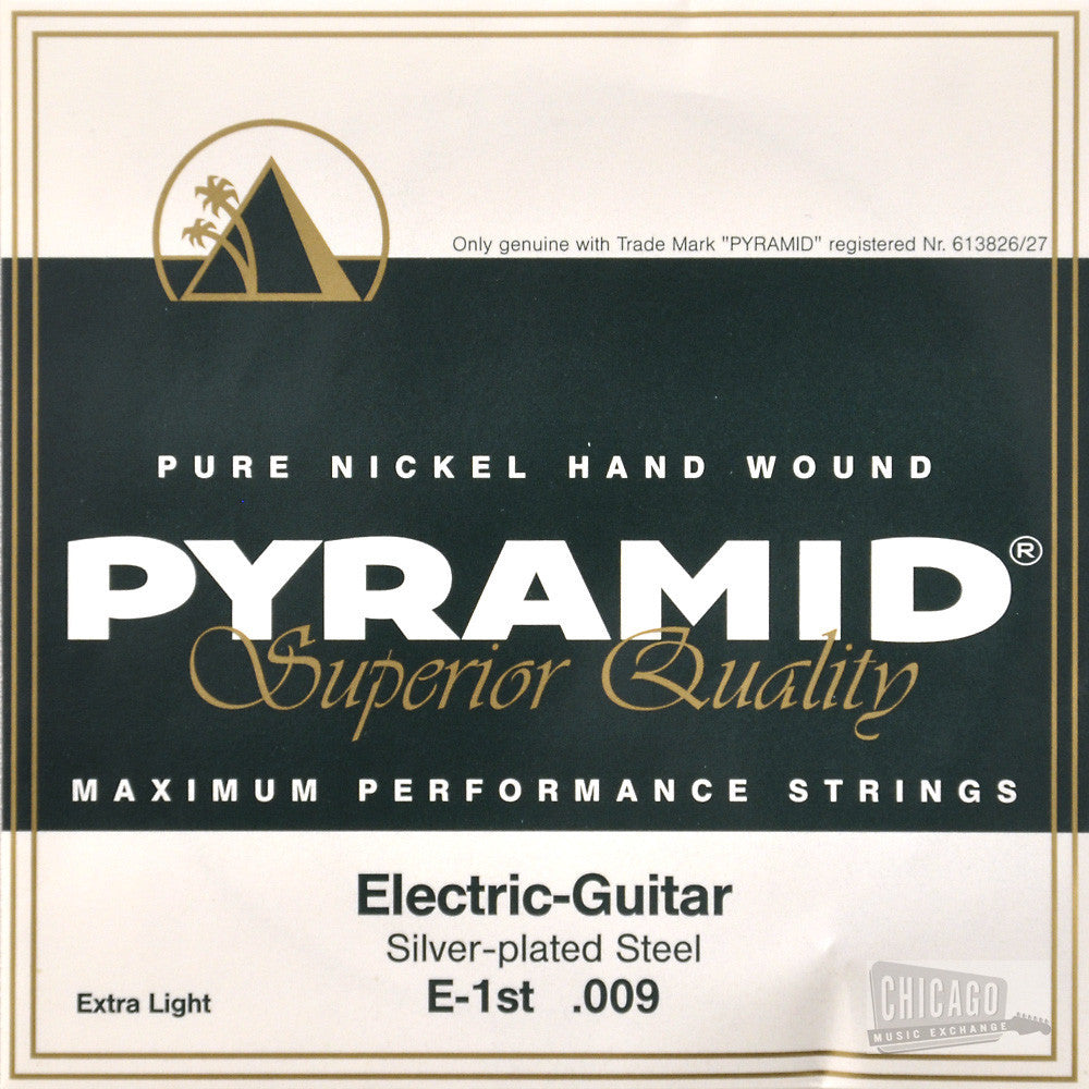 pyramid extra light electric guitar strings 9 42 chicago music exchange. Black Bedroom Furniture Sets. Home Design Ideas