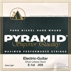 Pyramid Extra Light Electric Guitar Strings 9-42