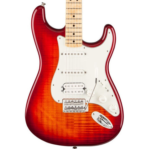Fender Standard Stratocaster HSS Plus Top Aged Cherry Burst with Maple Fingerboard