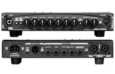 Gallien-Krueger MB Fusion 500W Tube Preamp Ultra-Light Bass Head