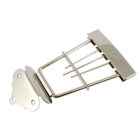 Allparts Hofner Bass Trapeze Tailpiece - Nickel