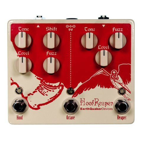 Earthquaker Devices Hoof Reaper Dual Fuzz w/ Octave Up