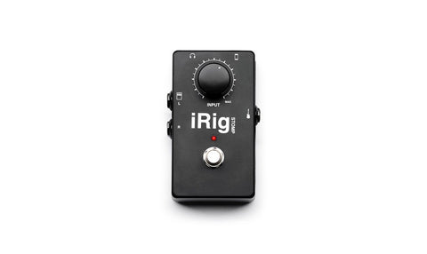 IK Multimedia iRig Pedal-Style Guitar Adaptor for iOS Devices