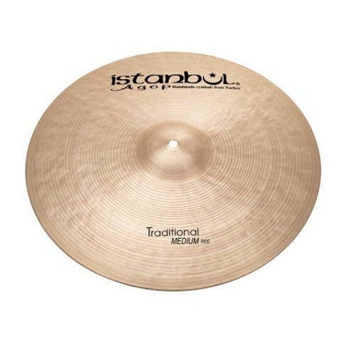 Istanbul Agop 22 Inch Traditional Medium Ride Cymbal MR22