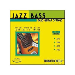 Thomastik JF344 Jazz Flatwound Long Scale Bass Strings 43-100