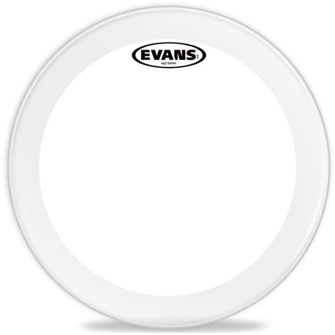Evans 24 Inch EQ3 Bass Drum Batter Head Clear