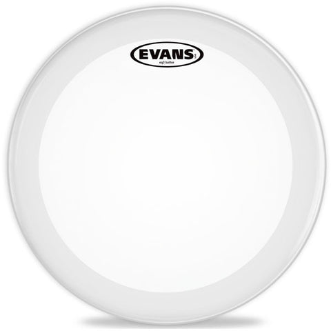 Evans 24 Inch EQ3 Bass Drum Batter Head Coated