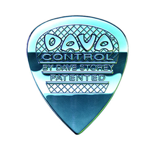 Dava Control Guitar Picks Nylon Teal 5-Pack