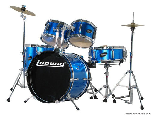 Ludwig Junior Outfit Drum Set (Blue)