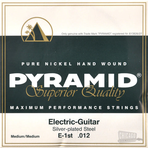 Pyramid Medium/Medium Electric Guitar Strings 12-54