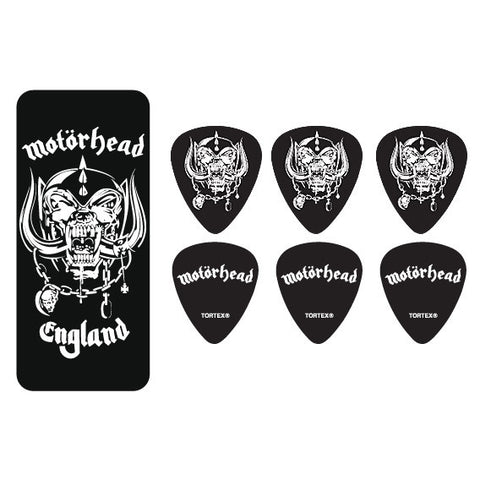 Dunlop Motorhead Guitar Pick Tin Warpig .88
