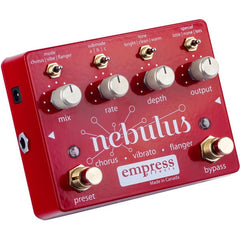 Empress Effects Nebulus Chorus, Flanger & Vibrato Pedal