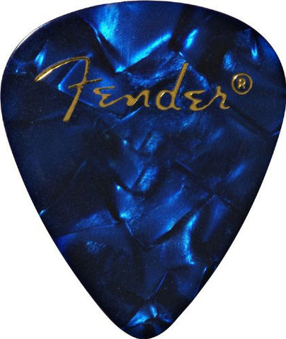 Fender Heavy Guitar Picks Blue Moto (12)