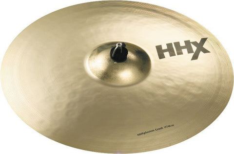 Sabian 18 Inch HHXplosion Crash Brilliant Cymbal