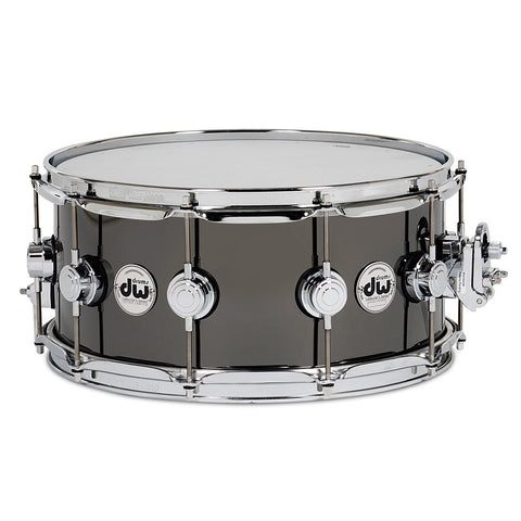 DW Black Nickel Over Brass 6.5x14 Snare