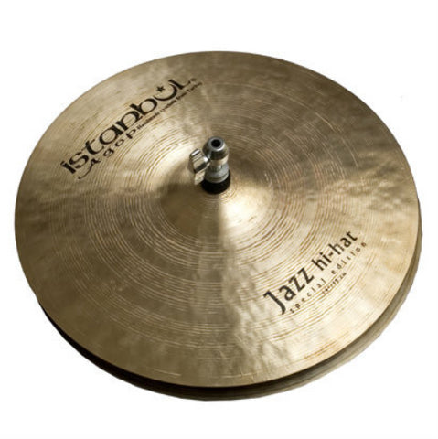 Istanbul Agop 14 Inch Custom Special Edition Hi-Hat Cymbals Pair