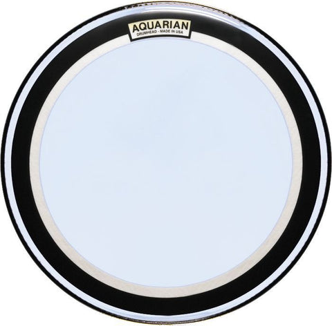 Aquarian 22 Inch Super-Kick II Clear Double Ply Drum Head
