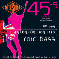 Rotosound RB45-5 Roto 5-String Bass Strings 45-130
