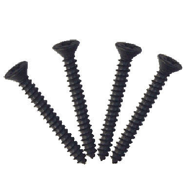 TV Jones EM1 Ring Screws Tall (4 Pack) Black