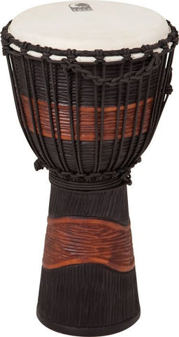 Toca Synergy Street Series Large Black/Brown Djembe