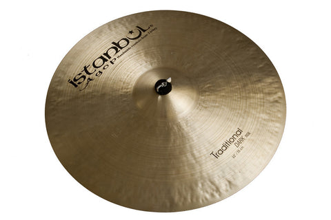 Istanbul Agop 24 Inch Traditional Dark Ride Cymbal