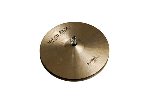 Istanbul Agop 14 Inch Traditional Light Hi-Hat Cymbals Pair