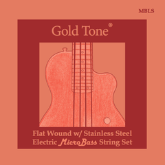 Gold Tone MircoBass Flat Wound Strings