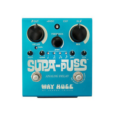 Way Huge WHE707 Supa-Puss Analog Delay w/Tap Tempo