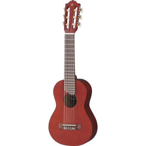 Yamaha GL1 Guitalele 6-String Nylon Persimmon Brown