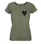Heartbeat - Ladies Organic Shirt (meliert)